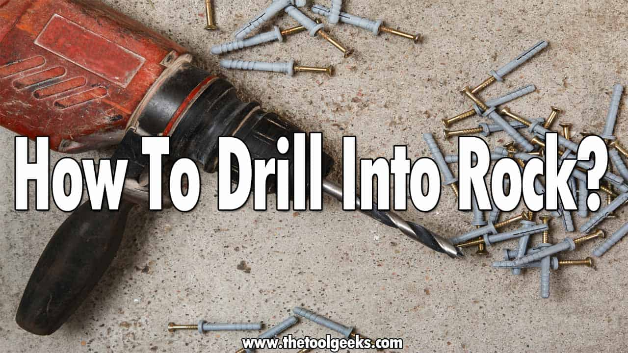 If you found a nice rock and want to craft it, then it is advised to use a hammer drill. Not everyone knows how to drill into rock, if you are one of these people then don't worry, we have prepared a little guide that will teach you how to do that.