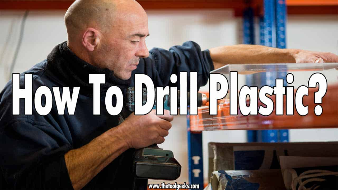 If you got a piece of plastic and want to make a hole then you need to use a drill. Knowing how to drill plastic is easy, but knowing how to avoid leaving marks and making a clean cut is hard. That's why in our guide we explain the steps you need to take when you are drilling thin or thick plastic.