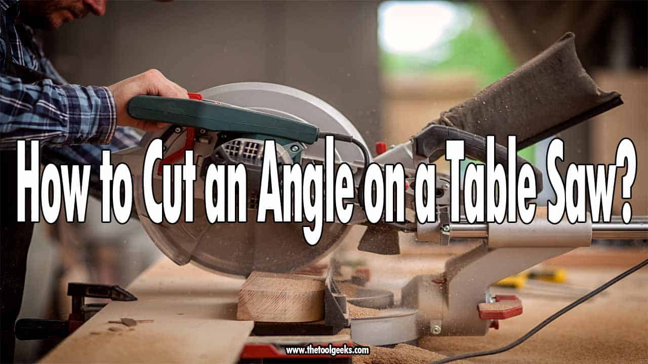 Table saws are good to make straight and clean cuts, but how to cut an angle on a table saw? The process isn't hard but you have to know how to set-up your jig. Once you do that then you can easily make clean curved cuts with a table saw.