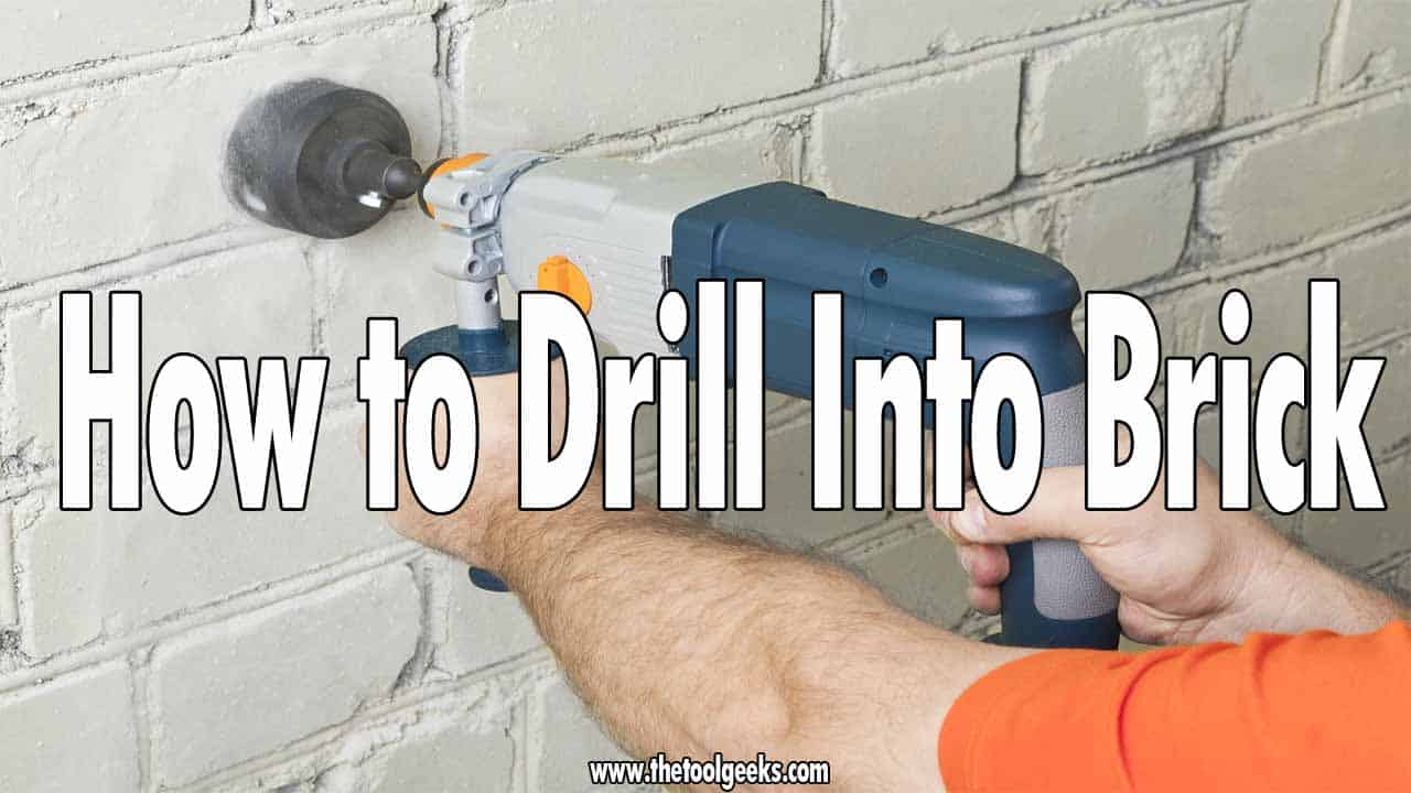 If you want to hang something out, or even make a big hole in the brick then you need to use a drill. Drilling through bricks can be messy, especially if the bricks are old enough. To avoid any failure of the project, and get the best results possible we suggest you read our guide that we made where we explain how to drill into brick.