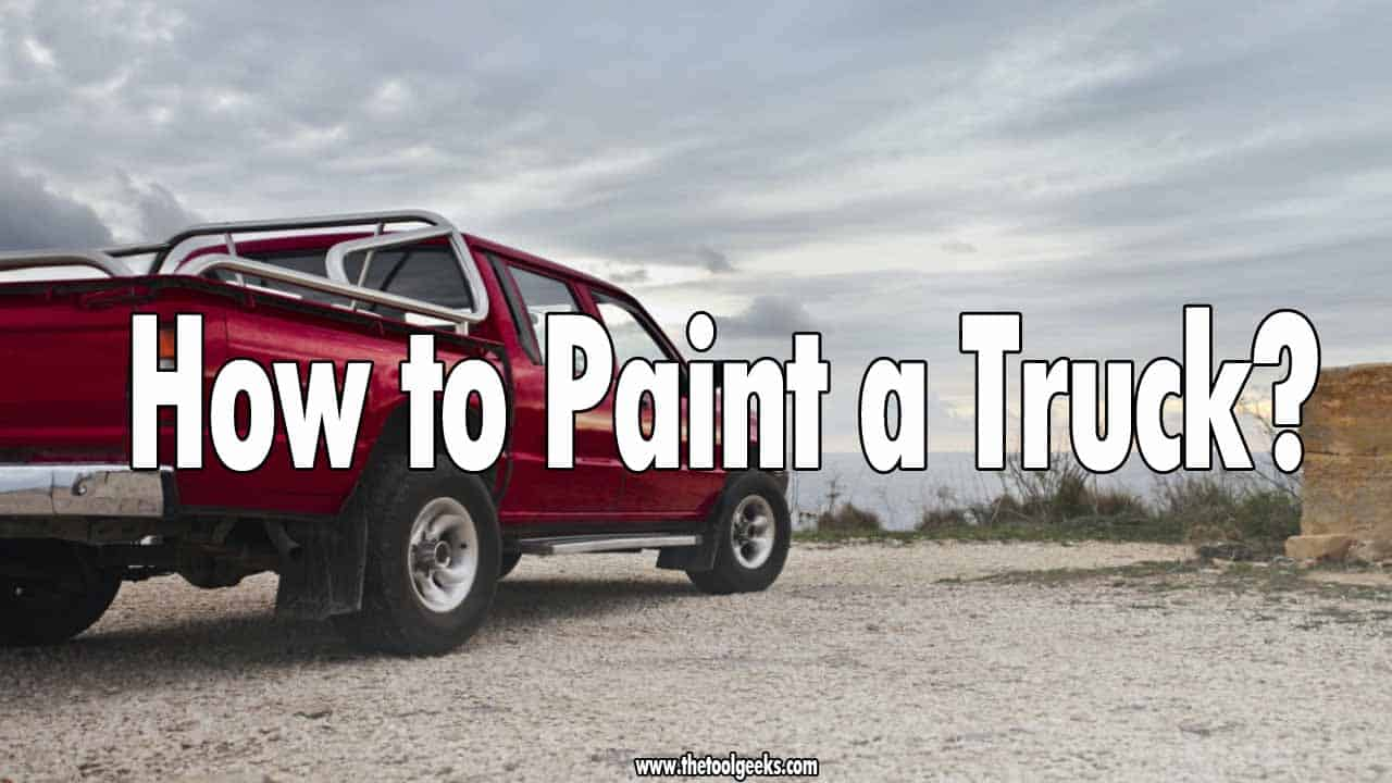 If you bought an old truck, or if your truck got old then you might want to re-paint it. Re-painting a truck will make it look better. Not a lot of people know how to paint a truck, there are a lot of steps involved, but that doesn't have to stop you. We made a step-by-step guide on how to do that, so if you are interested in painting your truck then make sure to check it.