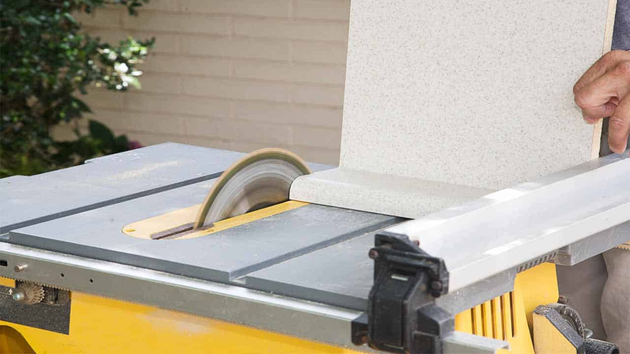 How to make angled cuts with a table saw? You need to have all the necessary tools, once you do that then you need to set-up the jig, rule a ruler to make a line, and then cut through the line with your table saw.