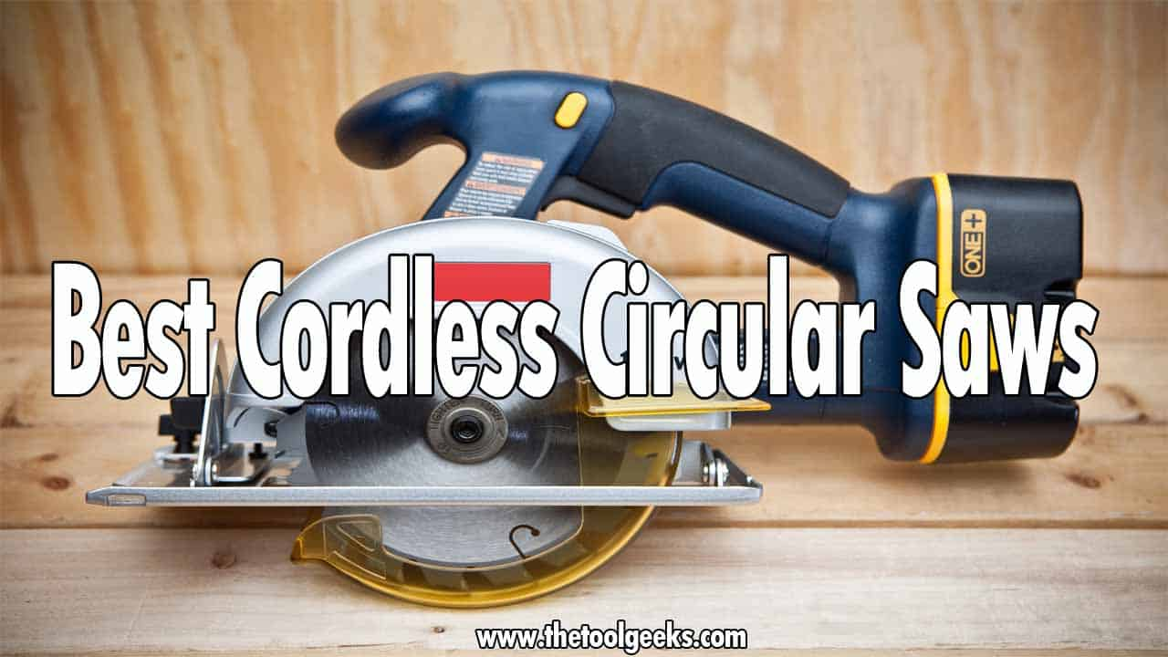 Having a corded circular saw is great, but what if you have to work outside? With a corded circular saw you would need to have a power outlet everywhere you have to work, but that's not the case with a cordless circular saw. Cordless circular saws get their power from their battery, so no power outlet is needed. The only problem with these types of saws is that there are many different models available and you don't know which one to pick. That's why, to make this easier for you, we have decided to make the best cordless circular saws list.