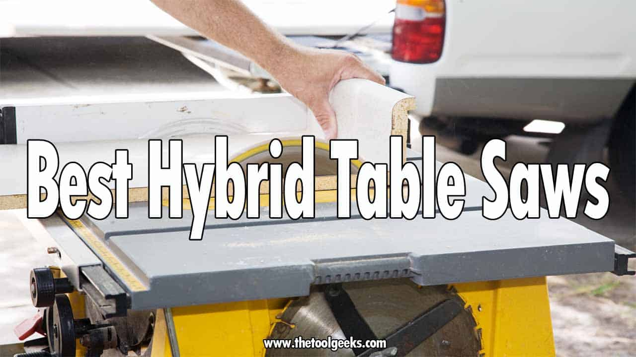 Looking for the best hybrid table saws? Then you should check our list. We have included 5 different table saws that come in different sizes. These hybrid table saws come with different features that will help DIYers and professionals.