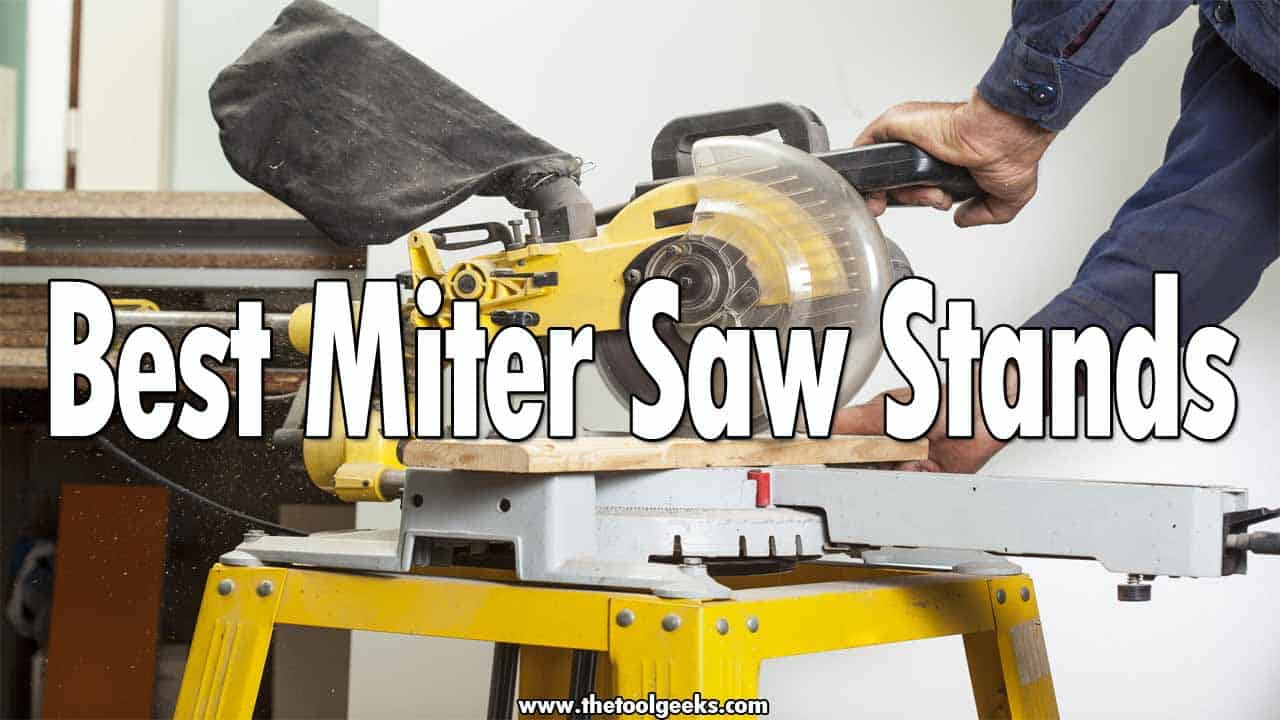 If you have a miter saw then you probably need a miter saw stand, most of the miter saws don't come with a stand so you will have to pay extra to buy one. Finding the best miter saw stands can be a challenge, there are a lot of different types, plus you will need to find one that's compatible with your miter saw model. To help you out, we made a list that contains 5 different models that come with different features.
