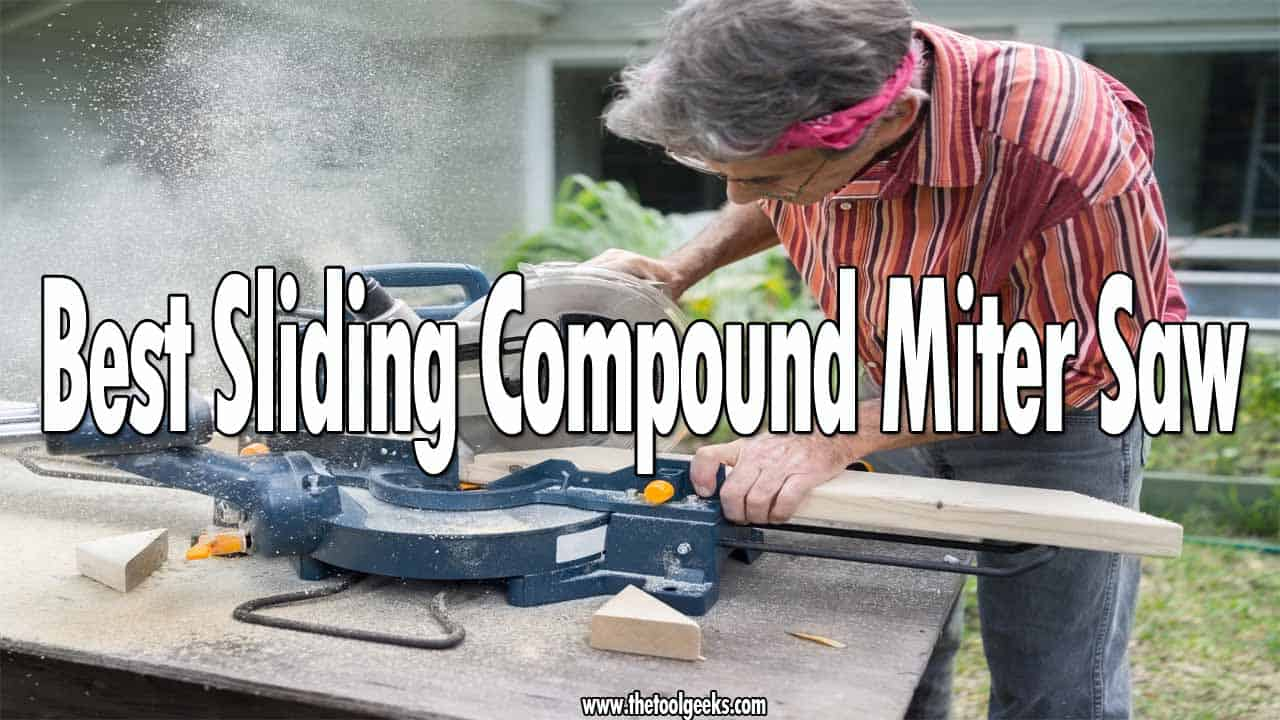 Finding the best sliding compound miter saws can be a challenge, there are a lot of different models available on the market. Luckily for you, we have made a list and included our top 5 recommendations.