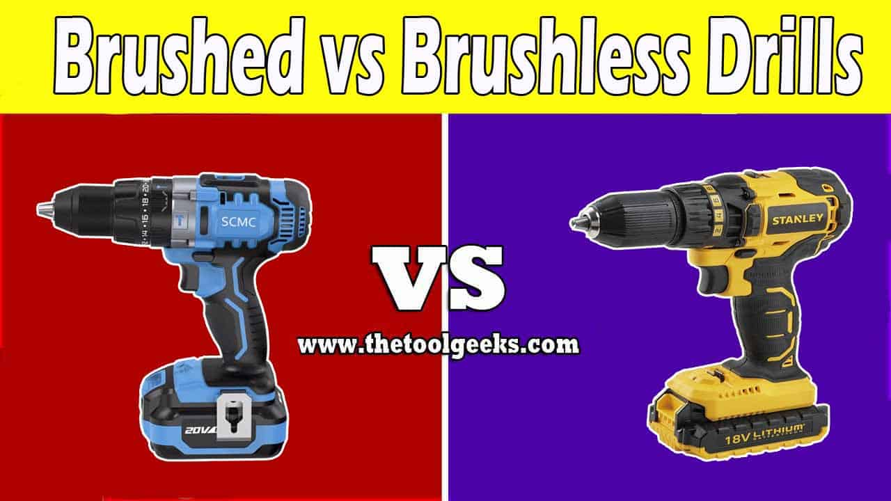 When it comes to the debates of brushed vs brushless drills then we think that the brushless drill wins. The main reason for this is because of the power, the brushless drills have more power and are smaller. While the brushed drills are heavy and don't have as much power as the brushless ones. But, the brushed drills cost less than brushless drills.