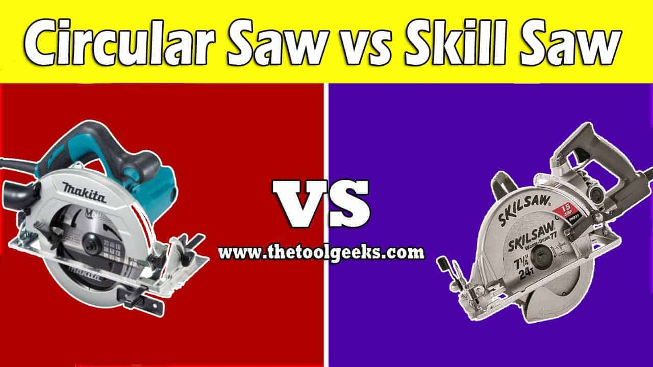 When it comes to the debate of circular saw vs skill saw then you have to understand one thing. The skill saw is a brand that produces circular saws, so basically it's comparing all other circular saw brands vs the skill saw brand.