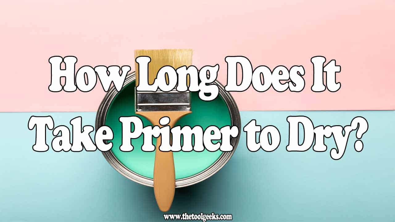 If you are looking to get that perfect finish, then you need to add primer before you add paint. Applying primer is the same as applying paint, but you have to wait for the primer to dry before you can add the last layer of paint. So, how long does it take primer to dry? It takes between 3 hours and 24 hours. The primer should be completely dry before you add paint.