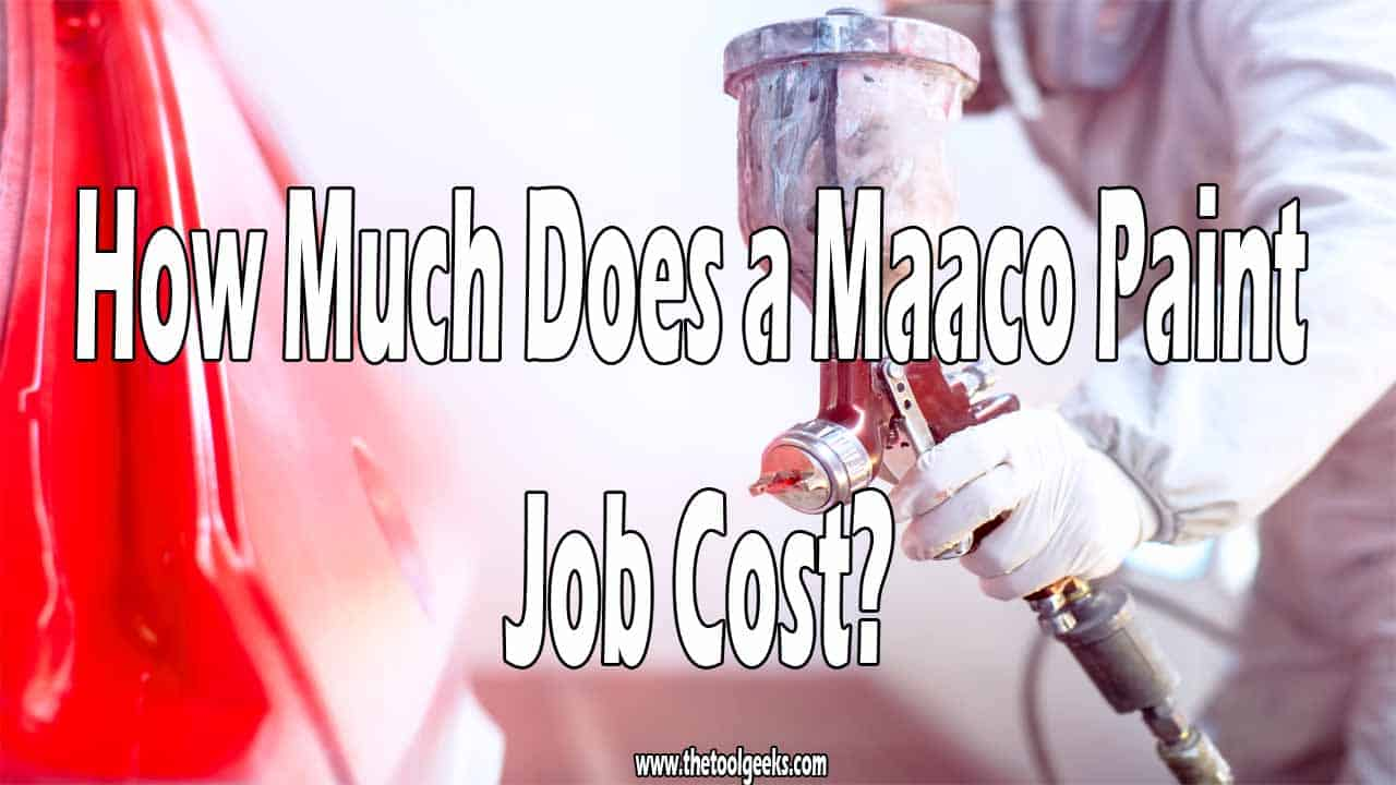 Your car looks old, and you don't like it. You want to make it look good and new again, but you don't want to spend a lot of money. If that's the case, then you should go for a Maaco paint job. This type of paint is cheap and good. So, how much does a Maaco paint job cost? If you hire someone it will cost you 450$ (estimated cost), and if you do it yourself it will cost you 200$ (estimated cost).