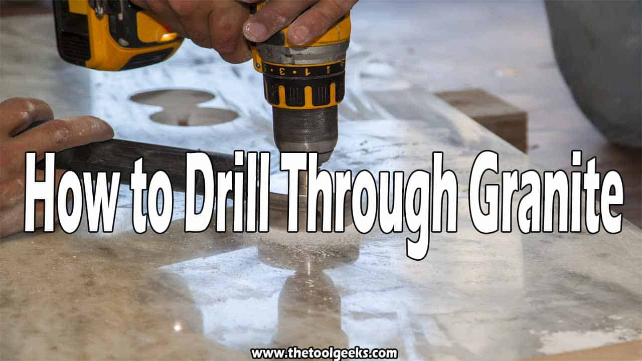 It's not advised to drill through granite if you don't know what you are doing. Granite is a very expensive material and it can easily be broken, so you have to always be careful while working with this material. To avoid that from happening, we have made a guide that will teach you how to drill through granite. It's a simple, but an effective guide. You will also learn about different tips and tricks.