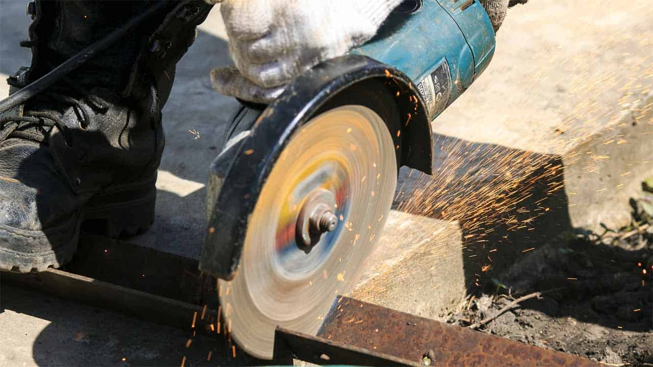 When you think about grinders, you think about angle grinders. The angle grinders are the most used grinders, they can be used for different projects, but since these power tools are powerful they are mostly used for cutting. You can use angle grinders for polishing or sanding only if you have the right discs.