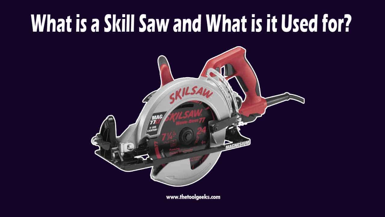 A skill saw is just a brand name. But, the brand does such a good job at producing circular saws that people started referring to circular saws as skill saws. The skill saws are very durable and powerful. They have been on the market for a long time.