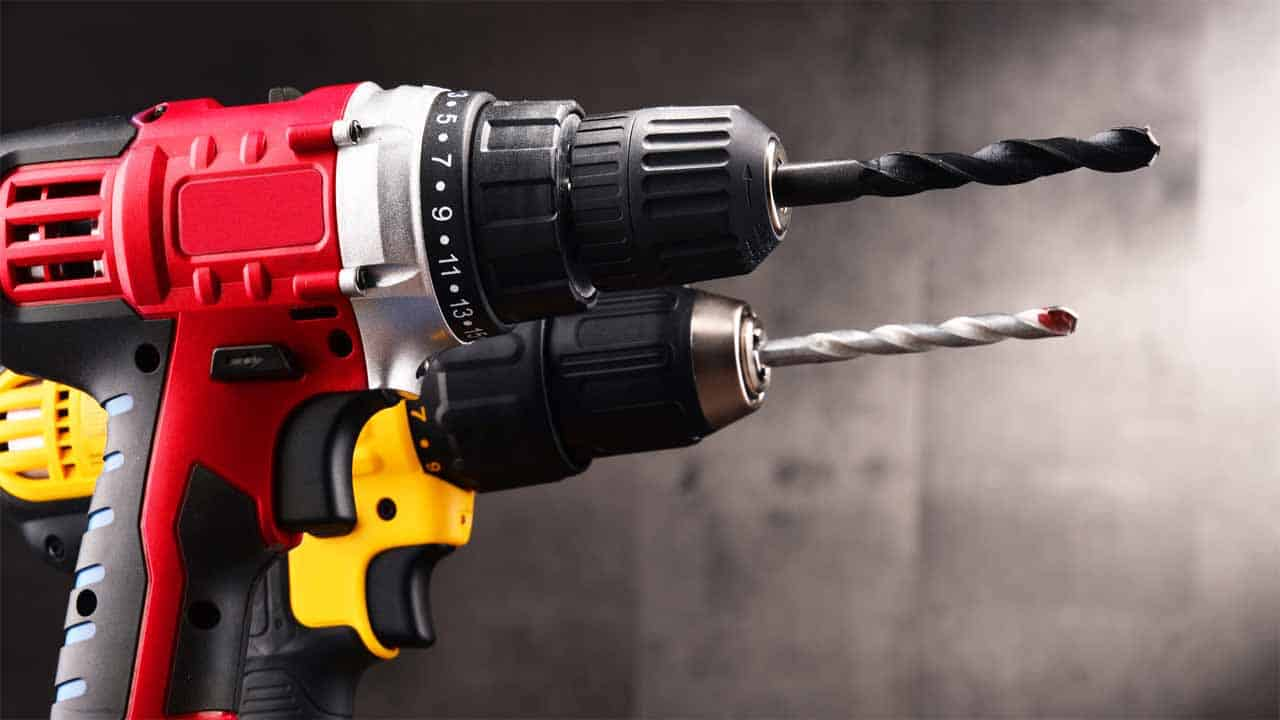 The cordless drills are very used among DIYers and professionals. The main reason people love this tool is its portability. The cordless drill is very light in weight and since it doesn't need a cord, you can easily transport it. It has enough power to deal with most of the projects.