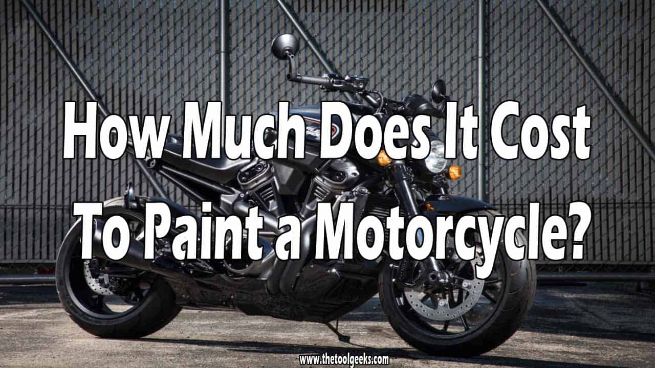 If you want to raise your motorcycle price then you have to make it look good. The only way to make it more appealing is to re-paint the whole bike. So, how much does it cost to paint a motorcycle? It depends. If you do it yourself it will cost you 150-300$, and if you hire someone it will cost you 200-2000$.