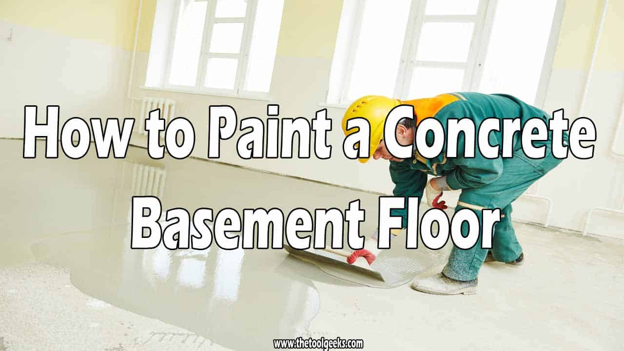 You have to agree with me when I say that painted concrete floors look better. So, if you want your basement to look better then you need to paint the floor. But, how to paint a concrete basement floor? Just like you paint anything. Remove every object for the surface, fill all the holes, apply primer, and then apply paint.