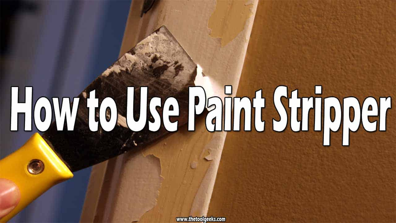 If you want to remove paint, then you need to know how to use paint stripper. The paint stripper is a product that you apply to the surface you want to the paint gone and leave it for a couple of minutes, then you take a putty knife and scrape the paint off.