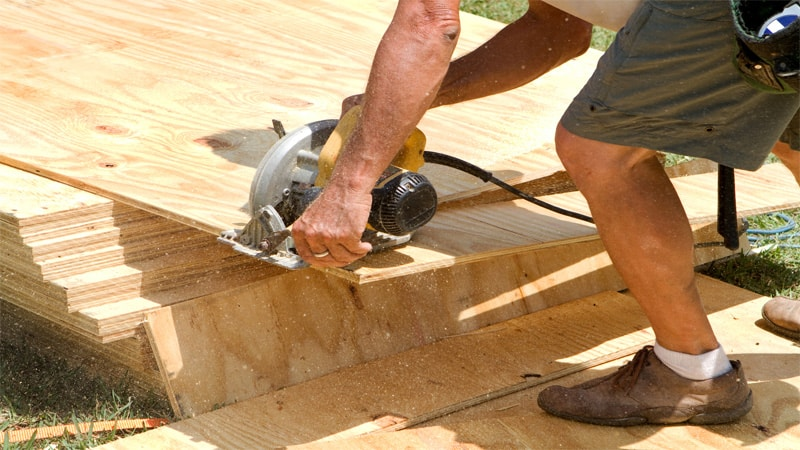 One of the things you can use a circular saw for is to cut wooden sheets. Circular saws do a very good job when it comes to woodworking.