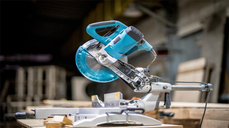 Most people use the miter saw for cross cuts.