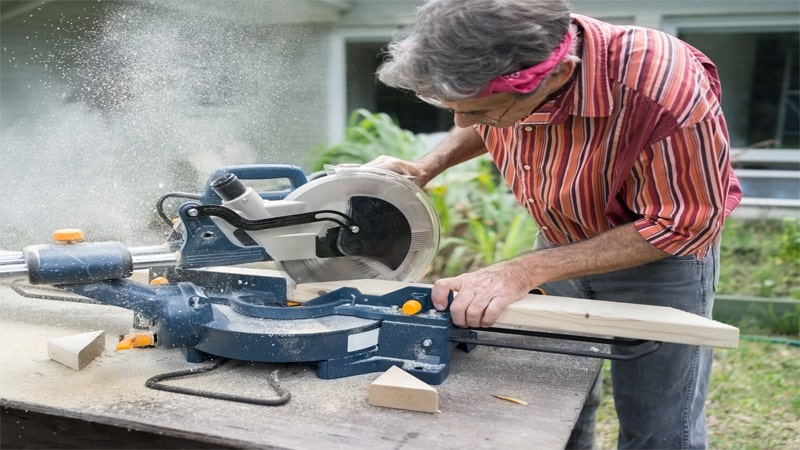 You can use the miter saw for a lot of things, including miter cuts.