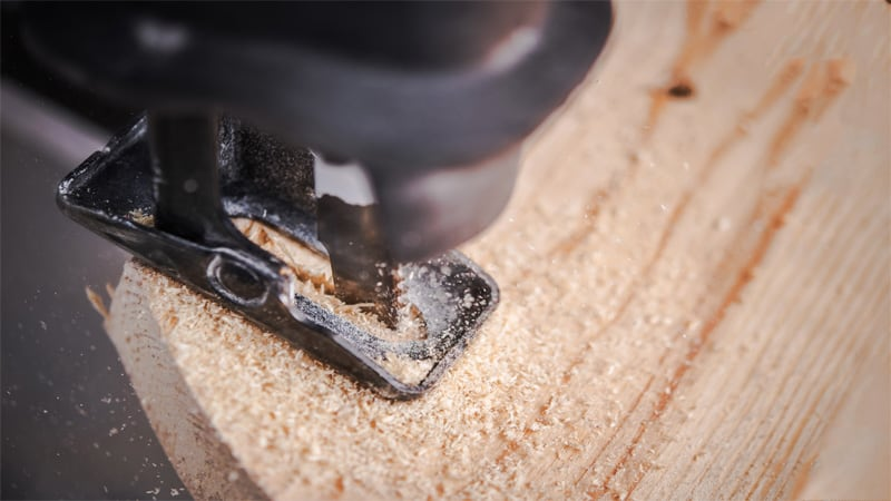 The reciprocating saw is a handheld tool, but you can make straight cuts with it.